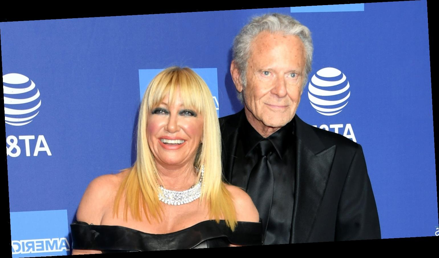 Suzanne Somers Says Her Husband Still 'Turns' Her On After 50 Years Together