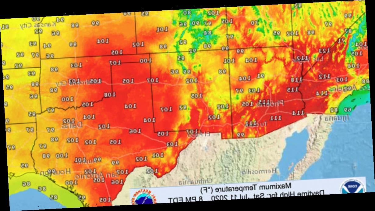 """Relentless heat wave to bake the U.S. for """"multiple weeks"""""""