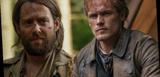 Outlander's Sam Heughan opens up on 'grotesque' Jamie Fraser and Roger moment