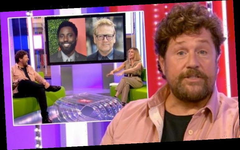 Michael Ball left red-faced after awkward The One Show blunder moments into return
