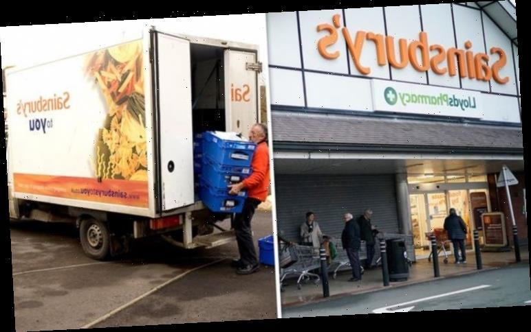 Sainsbury's makes major change to online shopping deliveries as lockdown eases