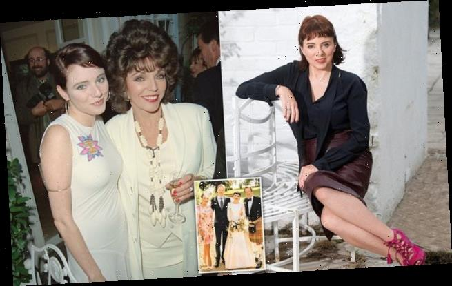 Joan Collins's novelist daughter Tara Newley makes a brave revelation