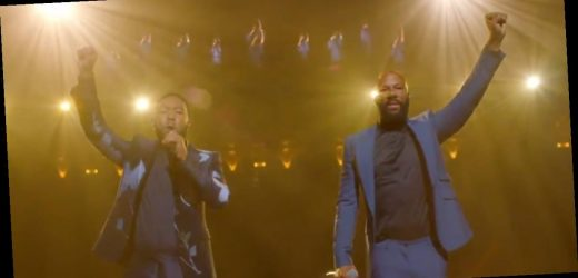 """John Legend and Common Sang """"Glory"""" at the DNC in Honor of John Lewis, and We Have Chills"""