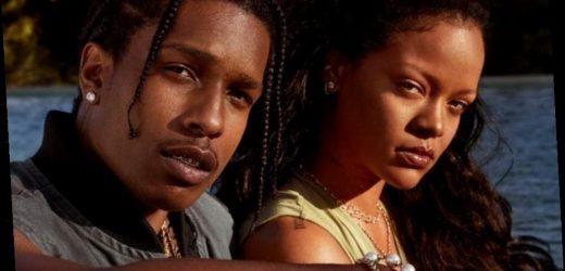 Rihanna And A$AP Rocky Talk Self-Care And Fenty Skin