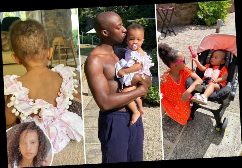 Alesha Dixon shares snaps of her incredible family holiday at Jersey's five-star hotel