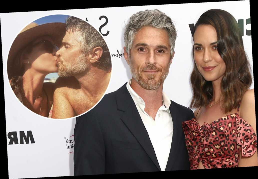 Dave and Odette Annable post kissing picture after October split