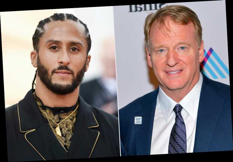 Roger Goodell Says He Wishes He Listened to Colin Kaepernick 'Earlier' During #TakeAKnee Movement