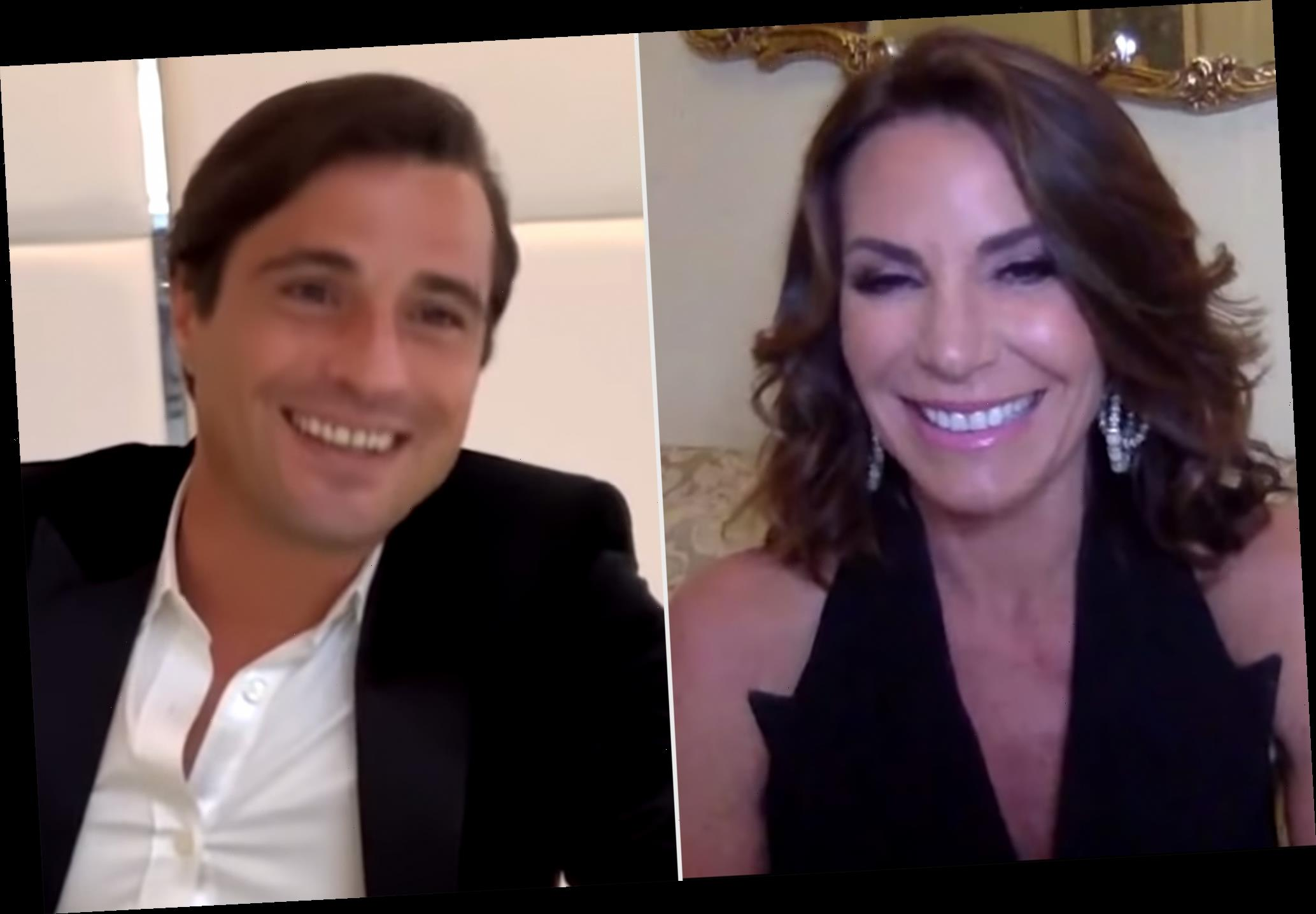 RHONY: Luann de Lesseps Reunites with Infamous 'Pirate' from St. Barths — But Did They Hook Up?