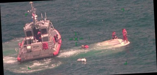 Family of 4 Found Clinging to Overturned Boat Rescued in Gulf of Mexico