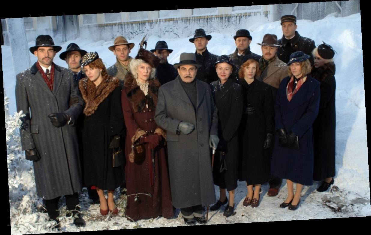 Did you spot Jessica Chastain in Agatha Christie's Poirot?