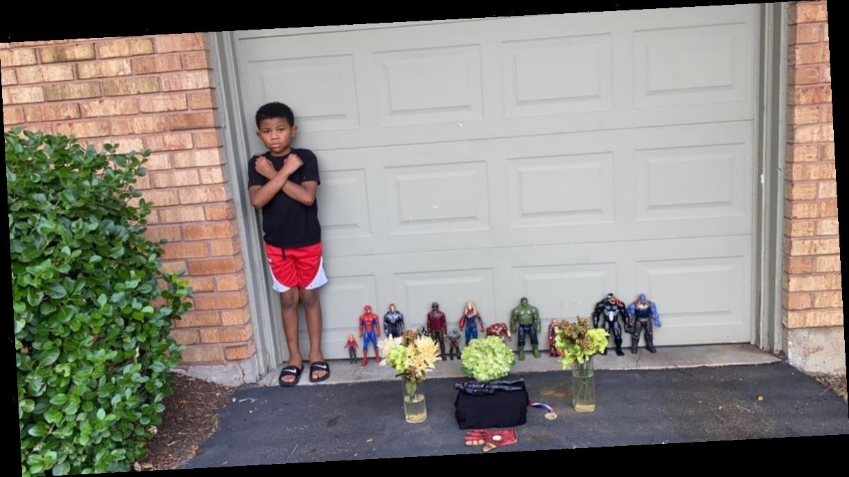 """""""Black kids can be heroes too"""": A 7-year-old's moving tribute to Chadwick Boseman goes viral"""