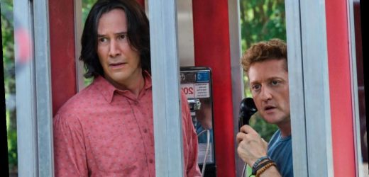 The Road To Bill And Ted Face The Music Is Paved With Keanu Reeves And Alex Winter's Friendship