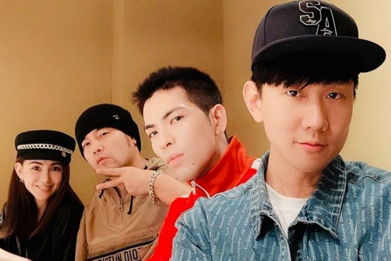 In good company: Jay Chou, Jam Hsiao and JJ Lin have dinner together