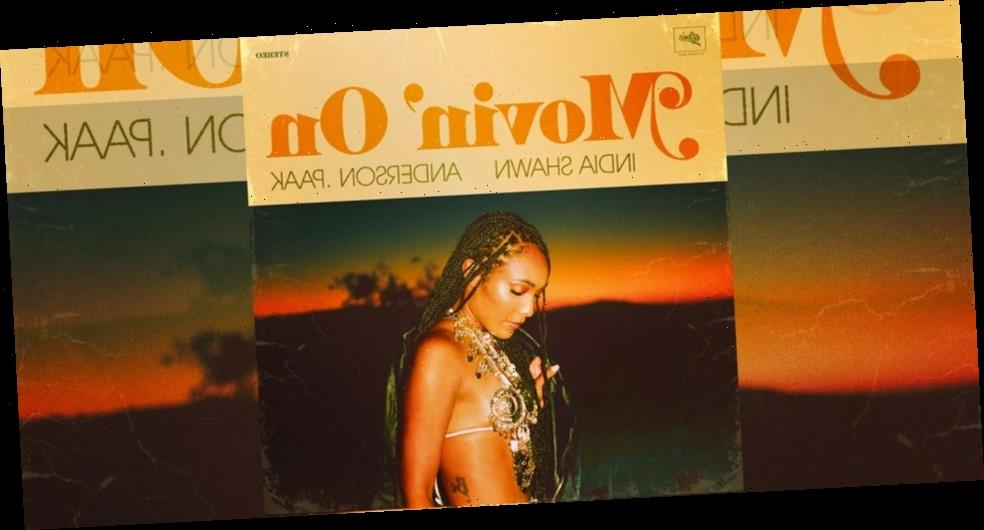 """India Shawn Drops New R&B Single """"Movin' On"""" With Anderson .Paak"""