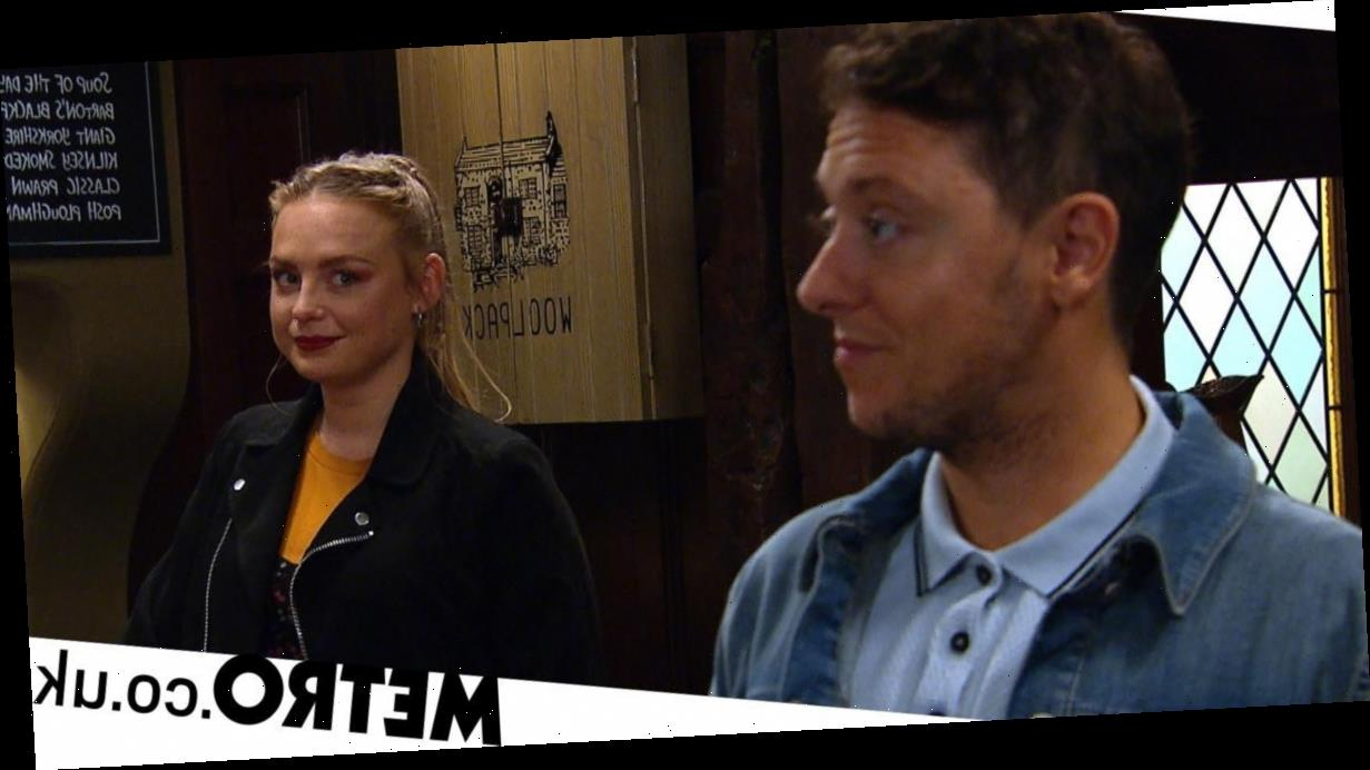 Spoilers: Shock passion for Amy and Matty in Emmerdale?