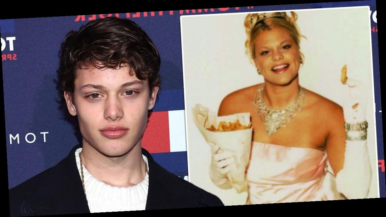 Jade Goody's son says mum would be 'smiling' as he cracks the modelling industry