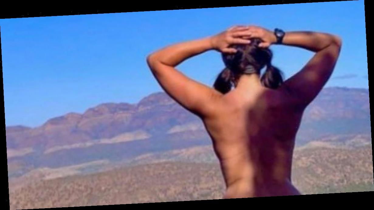 Nudists celebrate Naked in Nature Day by stripping off in the great outdoors