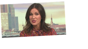 Piers Morgan says Susanna Reid should pose naked in racy GMB discussion