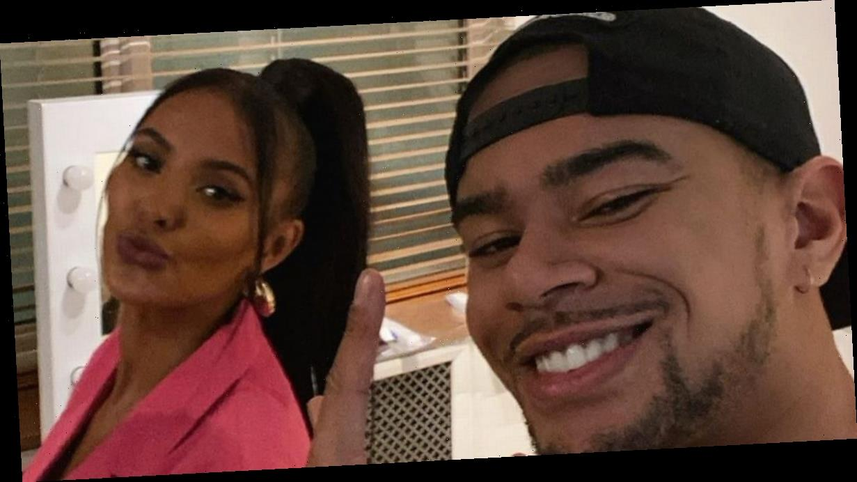 Wes Nelson and Maya Jama surrounded by dating rumours as they pose together