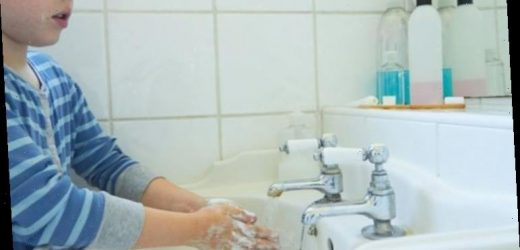 Parents still struggle to get their children to wash their hands after using toilet