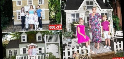 New trend sees parents spend thousands on luxury Wendy Houses