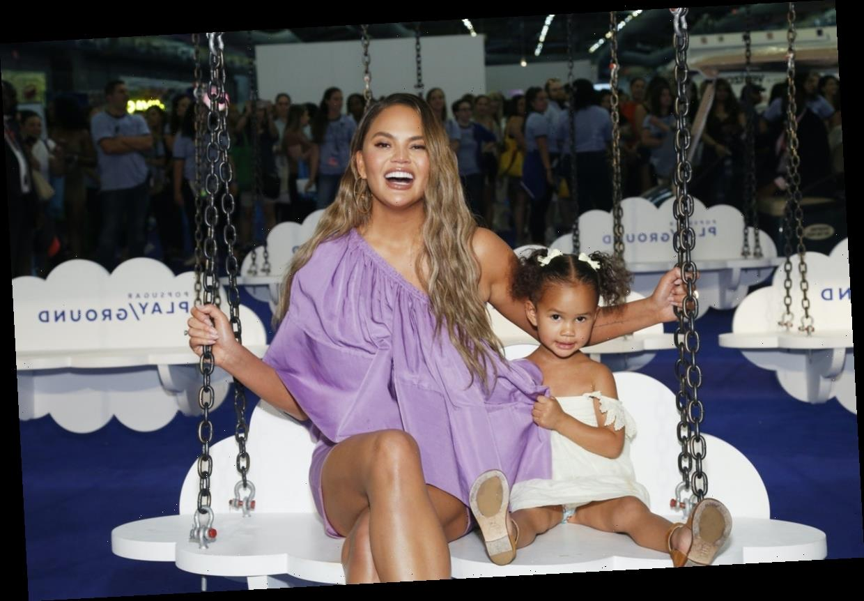 Chrissy Teigen Reveals How She Talks To Her Kids About Race & Privilege