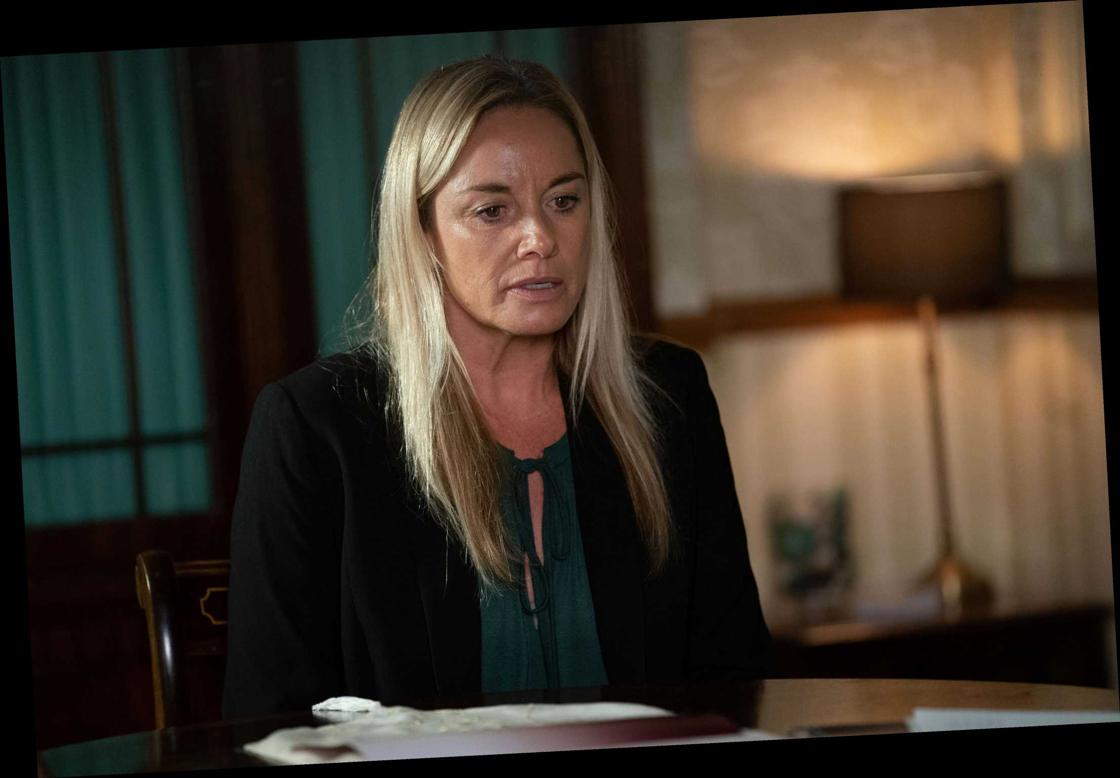 Former EastEnders star Tamzin Outhwaite admits it's 'difficult' to watch soap since departure