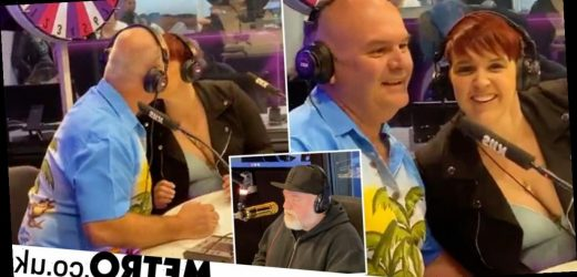 Woman makes out with her own father to win £550 on radio game show