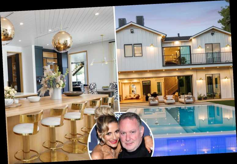 RHOBH star Dorit Kemsley and husband PK list their jaw-dropping Encino mansion for $9.5million