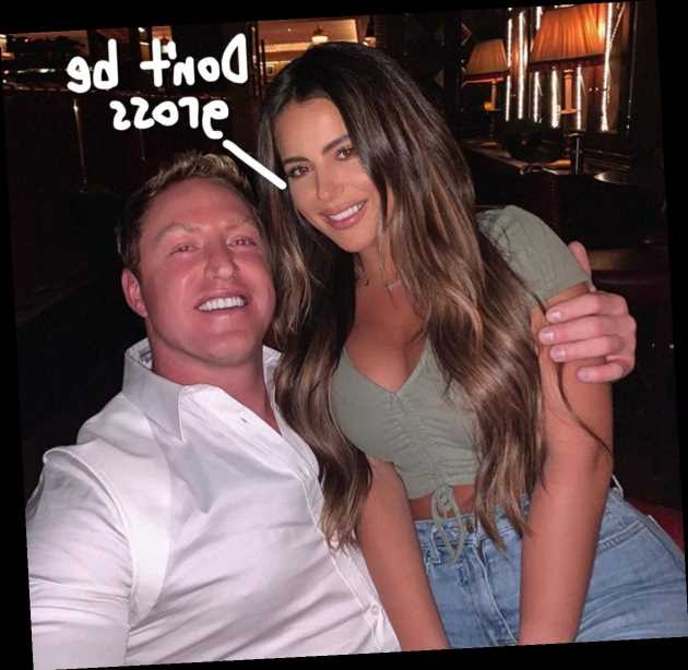 Brielle Biermann Claps Back At Fans Who Grilled Her For Posing On Stepdad Kroy's Lap!