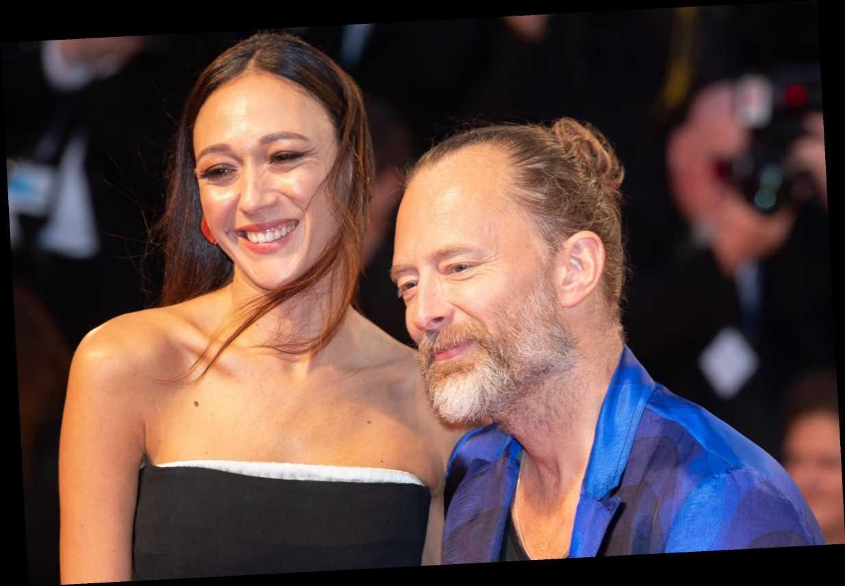 Radiohead's Thom Yorke, 51, marries girlfriend Dajana, 36, in front of 120 masked guests