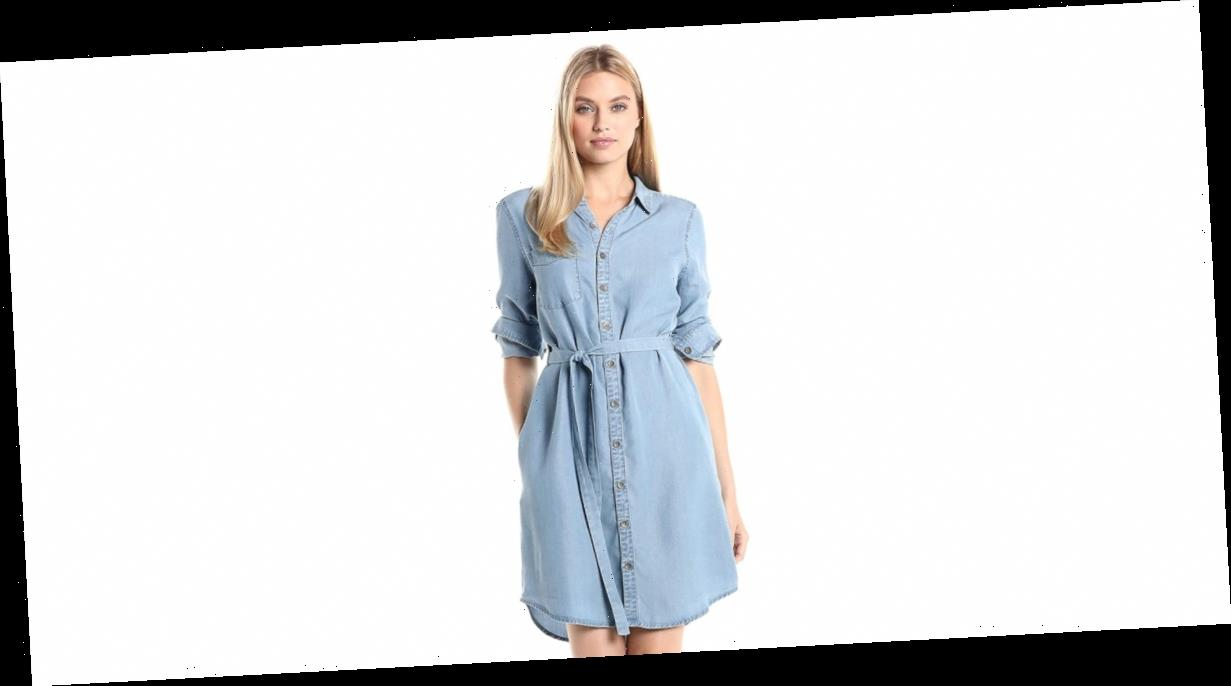 This Breathable Shirt Dress Takes the Stuffiness Out of Workwear