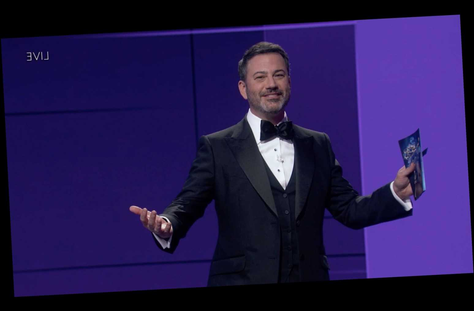 Emmy Viewers Tried to Access the Afterparty Using Jimmy Kimmel's Zoom ID