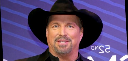 Garth Brooks' first dream did not include music