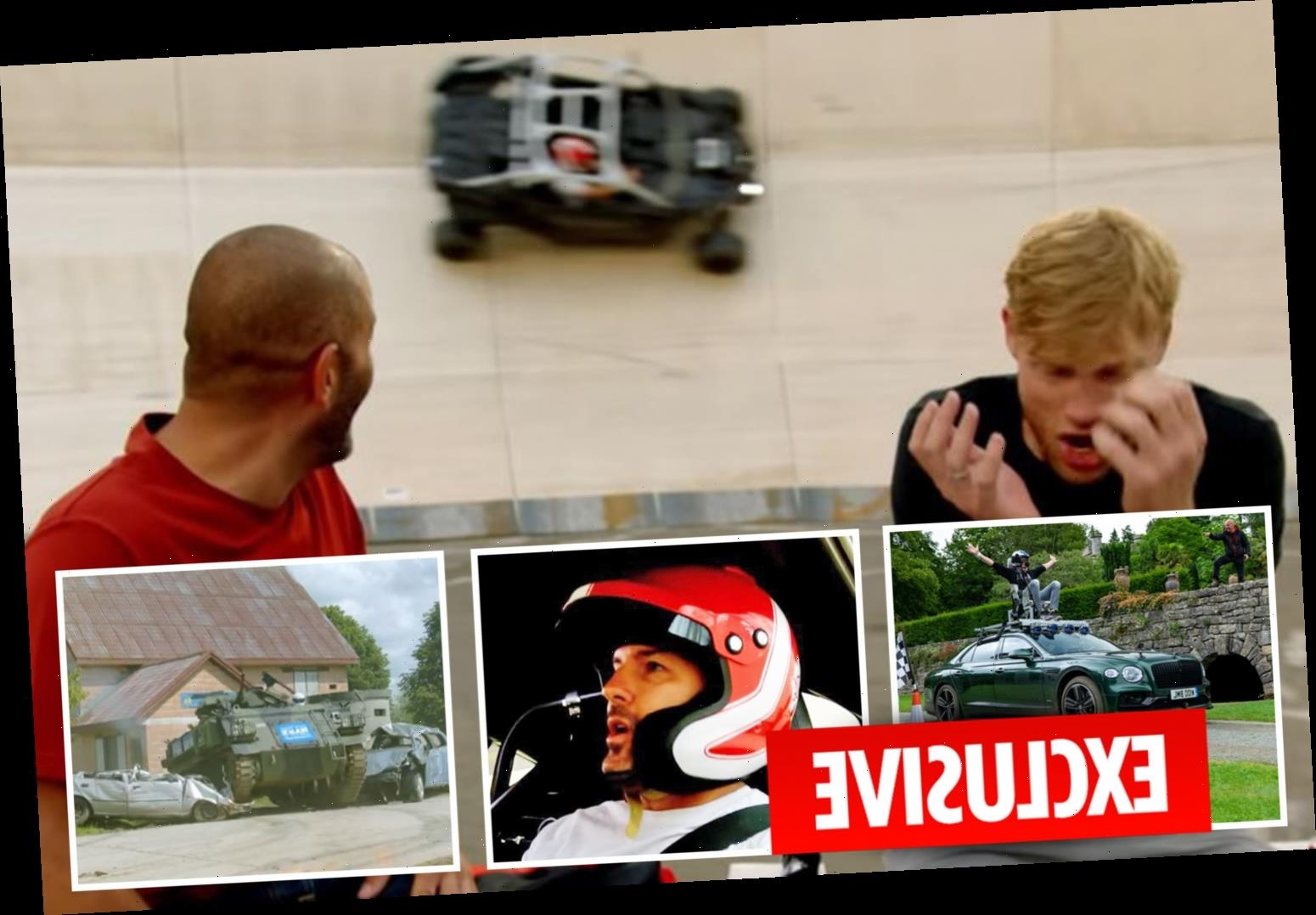 Top Gear is back as Paddy McGuinness fears for his life in Wall of Death stunt in our first look at the new series