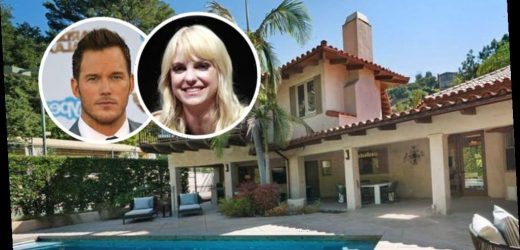 Chris Pratt and Anna Faris Finally Sell Former Hollywood Hills Home