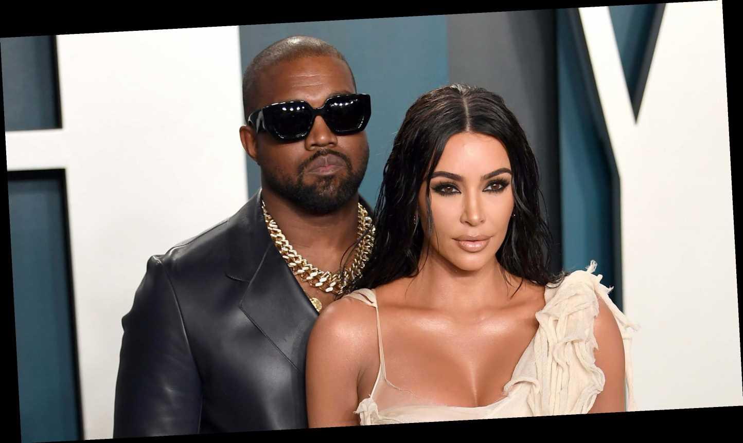 Kim Kardashian shares video of Kanye West walking on water at Sunday Service gathering