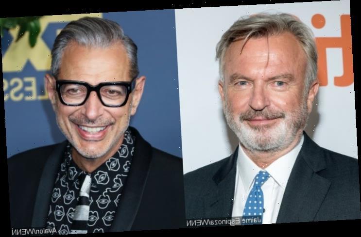 Watch Sam Neill and Jeff Goldblum Deliver Classics Medley on 'Jurassic Park' Set