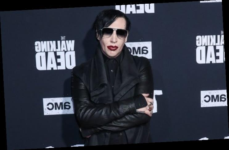 Marilyn Manson Fears Taking Painkillers Could Lead to Drug Relapse