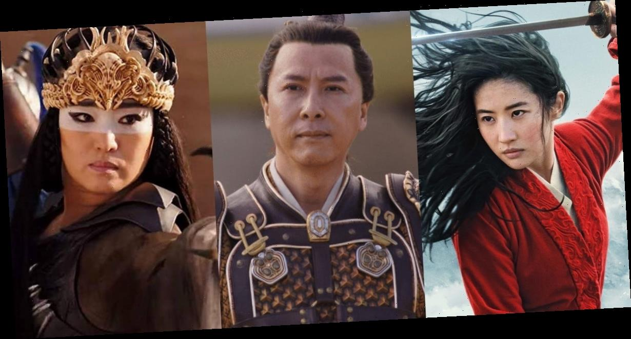 All the characters from the live-action 'Mulan,' ranked