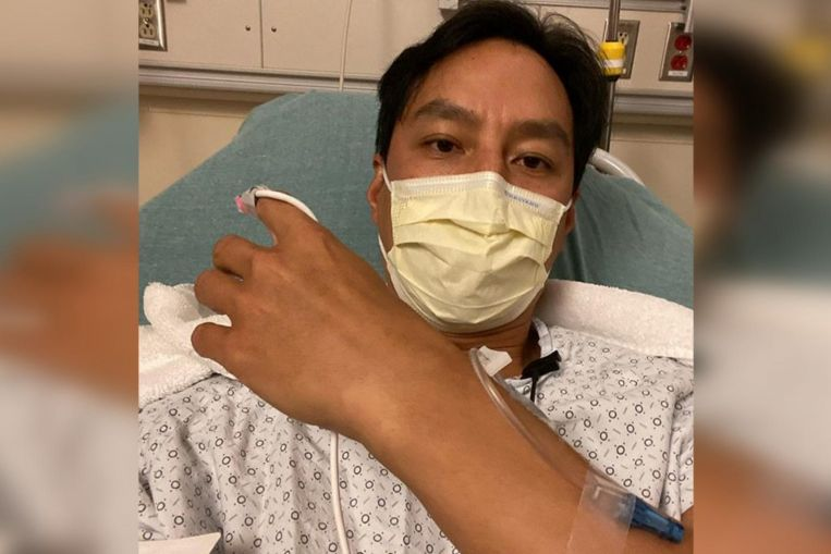 Actor Daniel Wu goes for surgery after suffering from appendicitis for the second time in 18 months