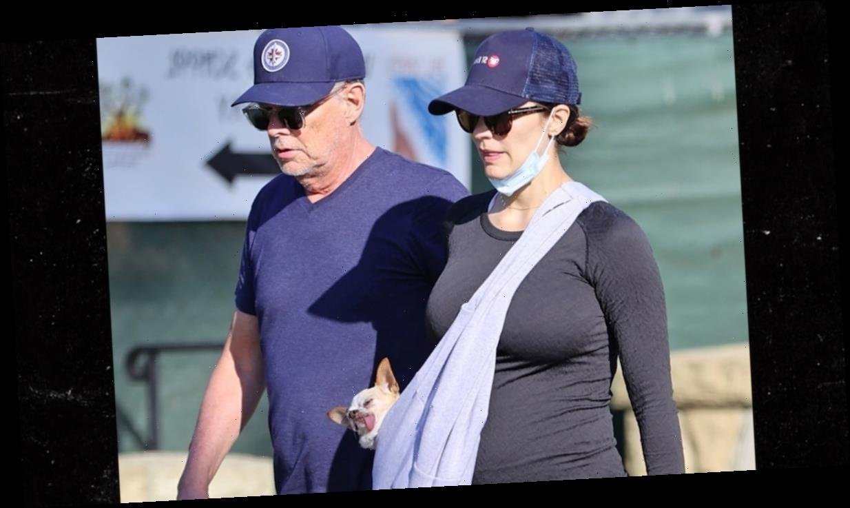 Katharine McPhee Pregnant, Showing Off Baby Bump with David Foster