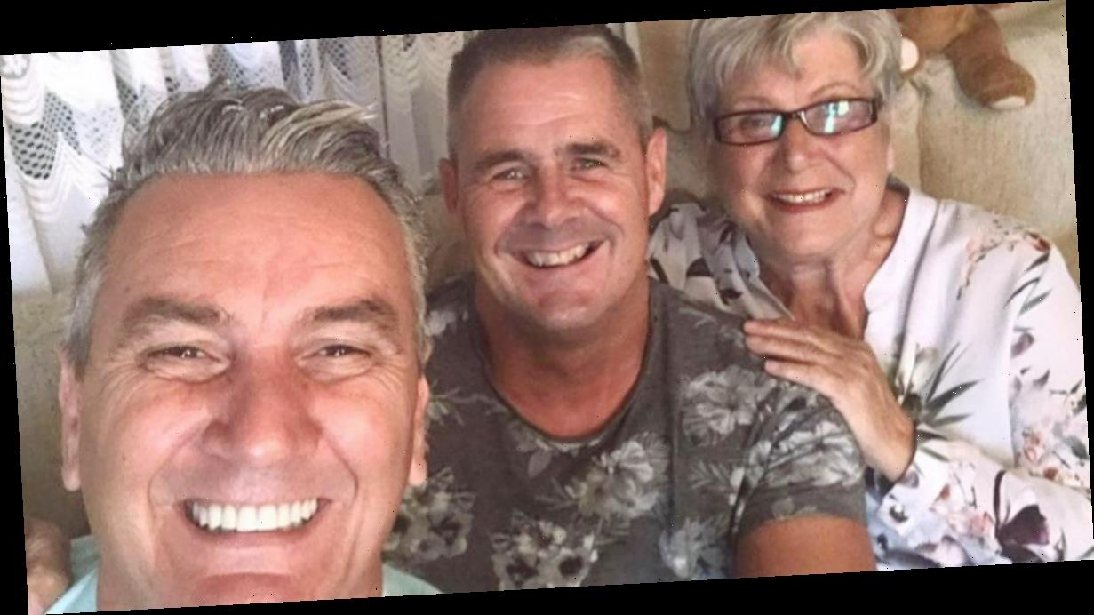 Gogglebox's Lee Riley finally reunited with boyfriend Steve after months apart