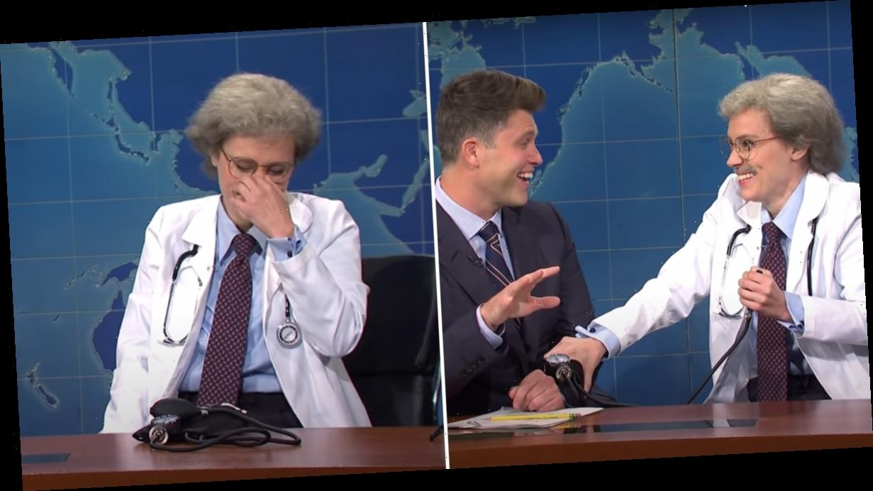 """Kate McKinnon Is All of Us Trying to Cope With This """"Crazy Time"""" as She Cracks Up on SNL"""