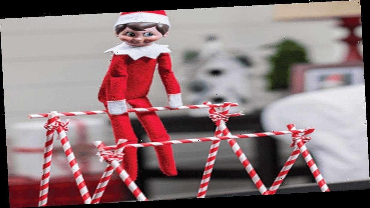 'Genius' mum dreading return of Elf on the Shelf for Christmas makes mini mask and 'Elf isolation house'
