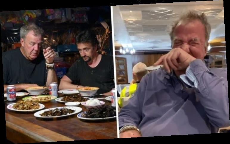 Grand Tour's Jeremy Clarkson endures culinary nightmare behind the scenes on season four
