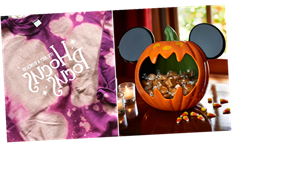 8 Boo Basket Ideas Inspired By Disney That'll Have Your Friends Grim-Grinning