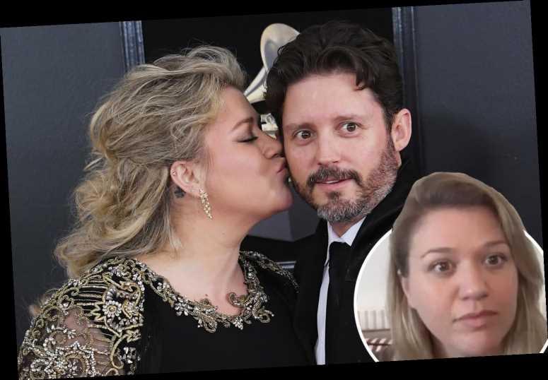 Kelly Clarkson admits she's 'horribly sad' and calls divorce from Brandon Blackstock 's****y'