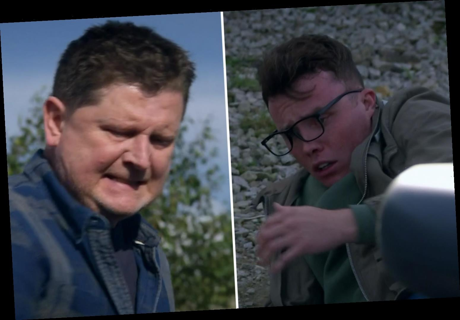 Emmerdale fans horrified as Paul brutally beats son Vinny after he confronts him about his gambling addiction