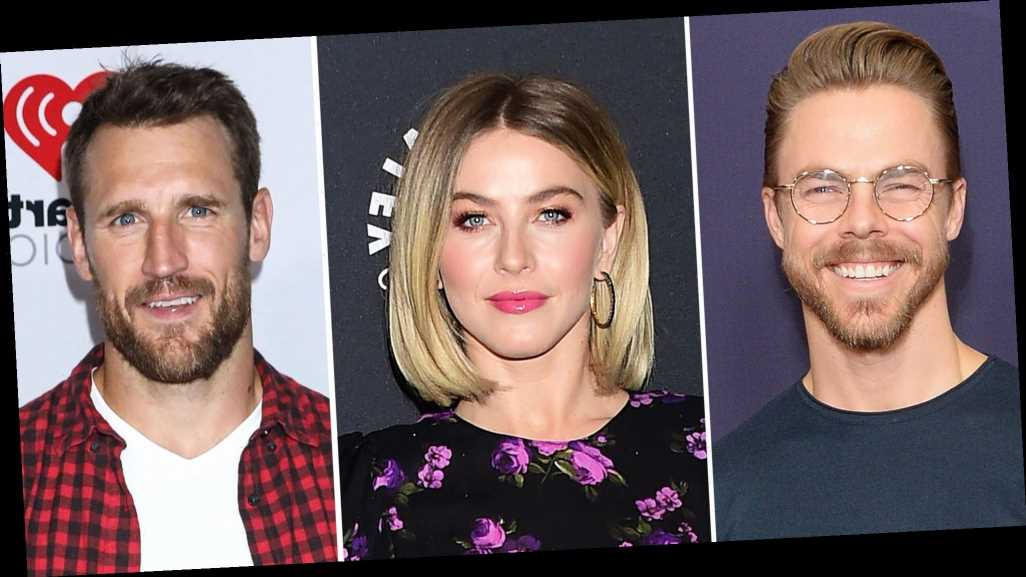 Derek Hough Wants Julianne, Brooks Laich to Be 'Happy' Amid Reconciliation
